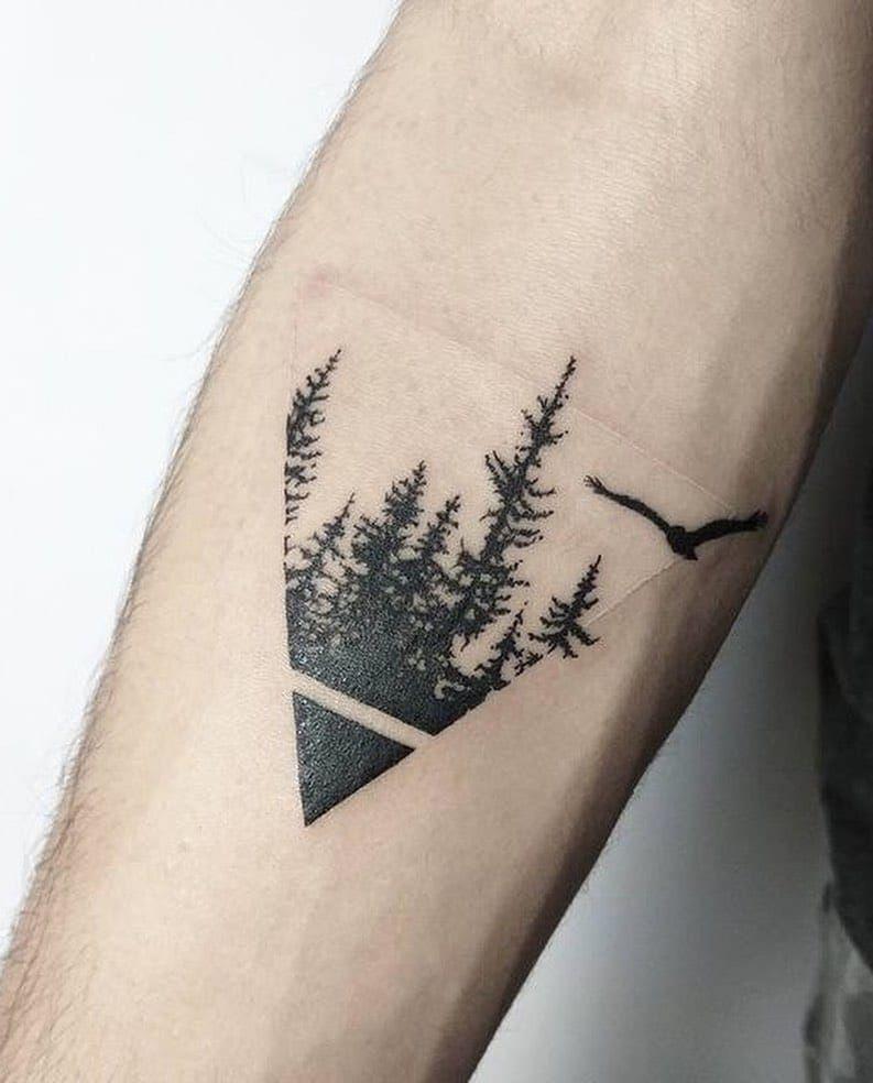 101 Amazing Pine Tree Tattoo Ideas Will Love!