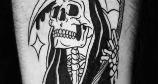 110 Unique Grim Reaper Tattoos You'll Need to See - Tattoo Me Now