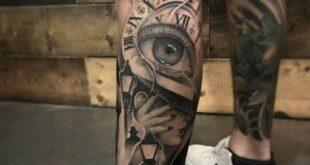 125 Best Leg Tattoos For Men - Tattoo Blog