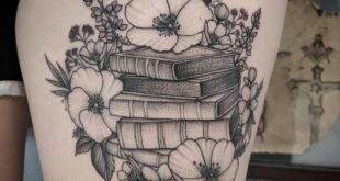 105 Book Tattoos For the Ultimate Reader