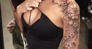 Female Black & Grey Hip Butt Underboob Tattoos?