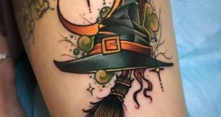 """50+ Halloween Tattoos for People who Live to Explore the """"Scary"""" - Hike n Dip"""