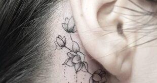 7 Most Beautiful Ear Tattoos