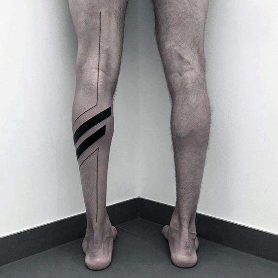 70 alle schwarzen Tattoos für Männer – Blackout Design-Ideen - Mann Stil | Tattoo