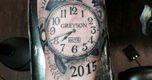 75 Brilliant Pocket Watch Tattoo Designs Ever Made