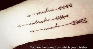 Baby Name Tattoos You'll Fall In Love With