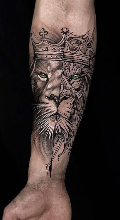 Lion Tattoo Meaning – Lion Tattoo Ideas for Men and Women with Photos
