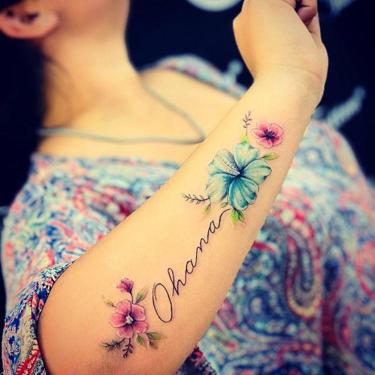 Ohana Tattoo als Symbol für Familie und Freundschaft: 40 Motiv-Ideen