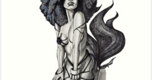 'Untamed' Art Print by BflybyDesign