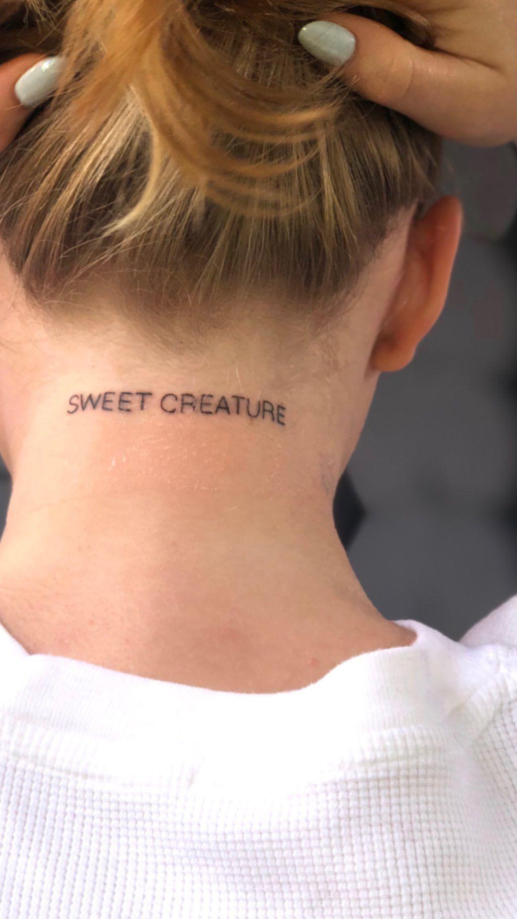 harry styles sweet creature tattoo