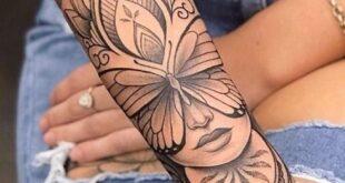 tattoo ideas female arm unique